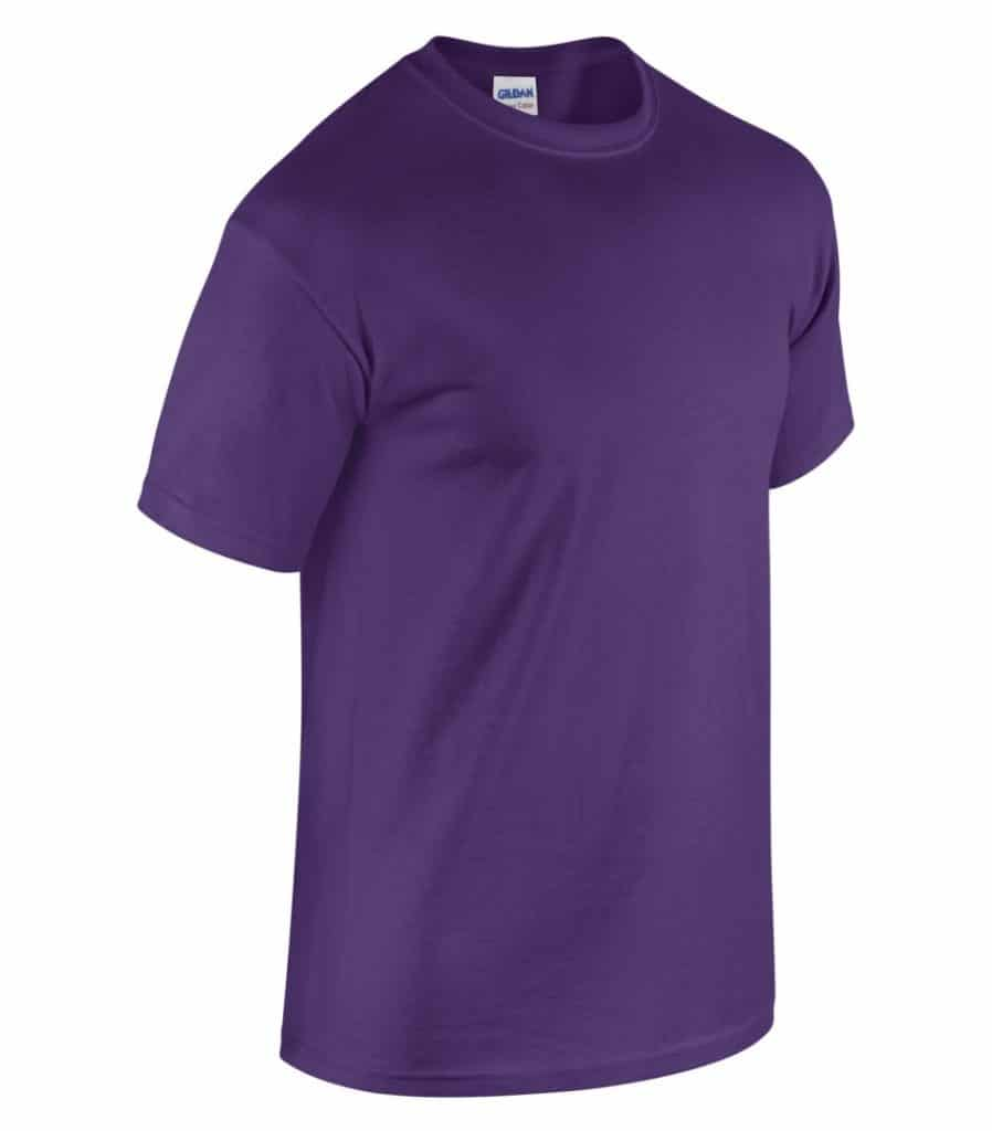 WTSM5000 - Purple - WorkwearToronto.com - Men's T-Shirts With Custom Logo