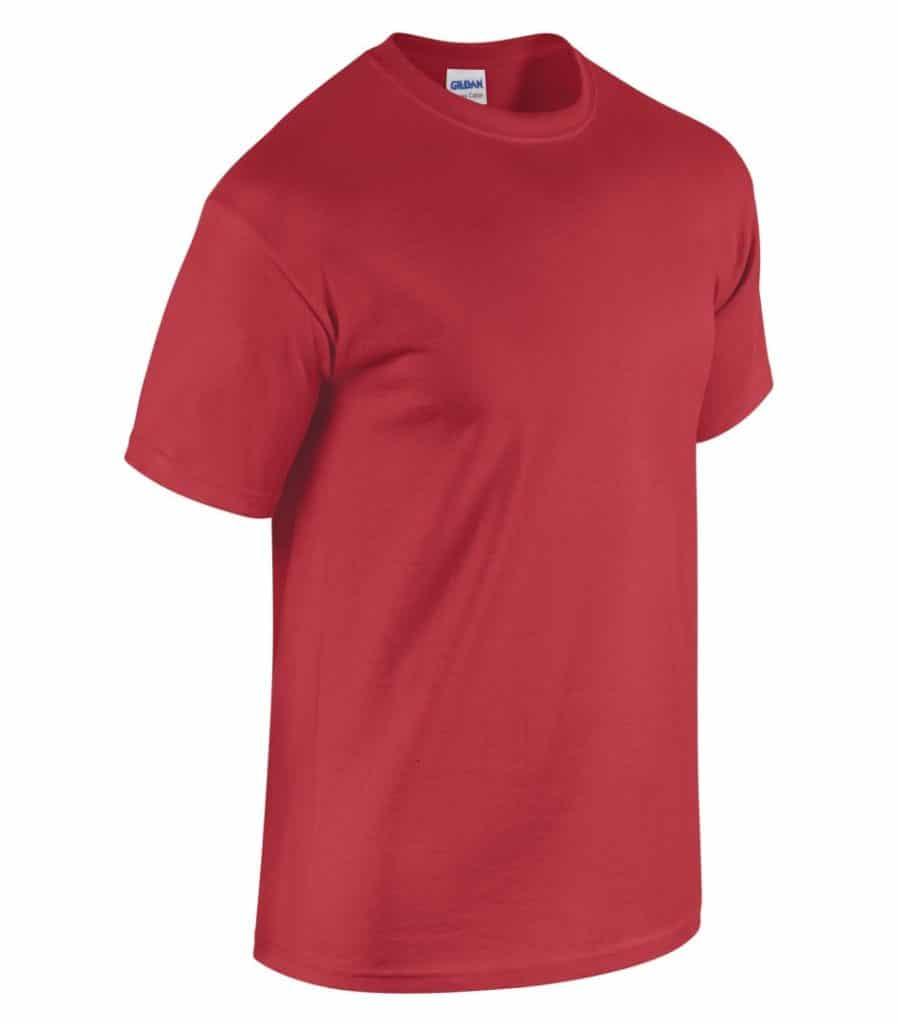 WTSM5000 - Red - WorkwearToronto.com - Men's T-Shirts With Custom Logo