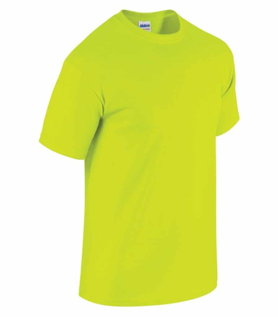 WTSM5000 - Safety Green - WorkwearToronto.com - Men's T-Shirts With Custom Logo