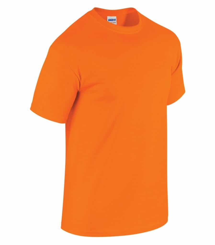 WTSM5000 - Safety Orange - WorkwearToronto.com - Men's T-Shirts With Custom Logo