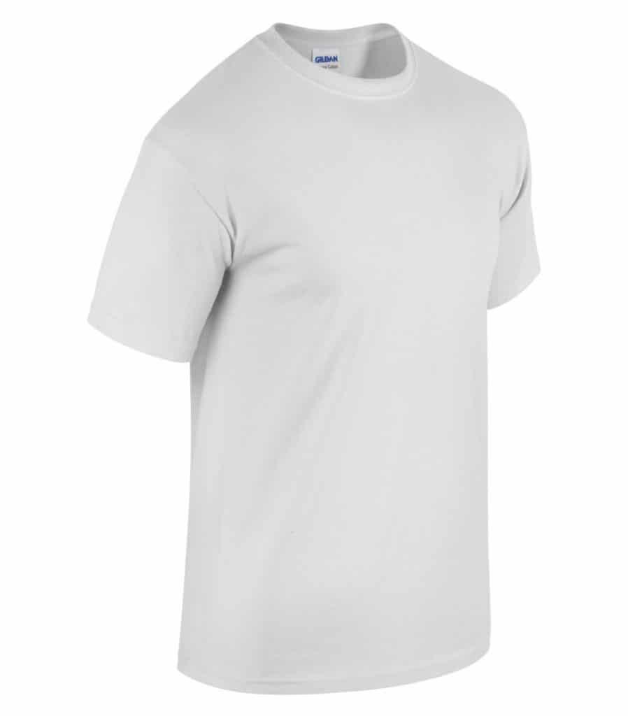 WTSM5000 - White - WorkwearToronto.com - Men's T-Shirts With Custom Logo