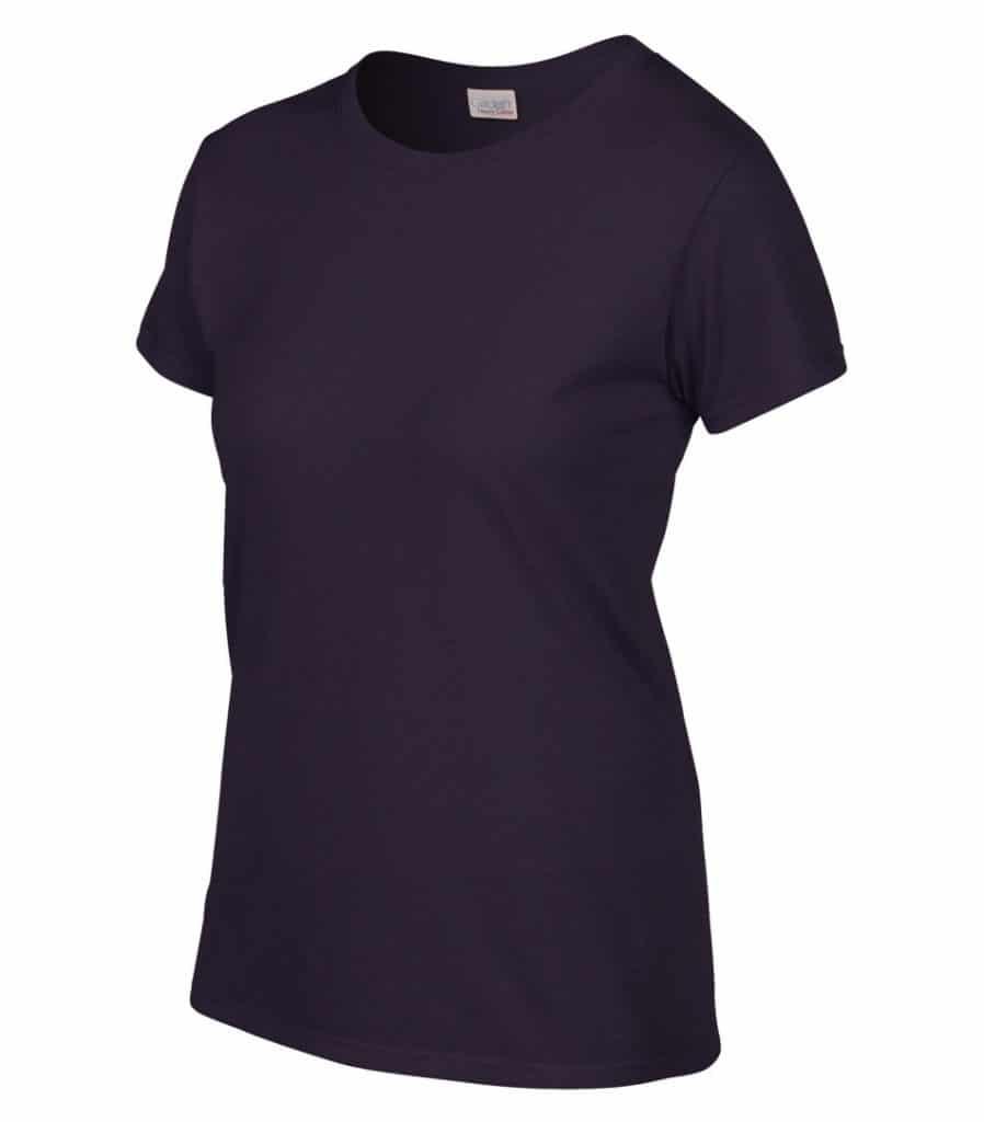WTSM5000L-W - Blackberry - WorkwearToronto.com - Women's T-Shirt With Optional Logo