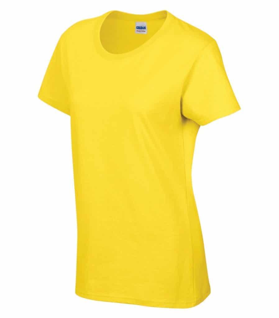 WTSM5000L-W - Daisy - WorkwearToronto.com - Women's T-Shirt With Optional Logo