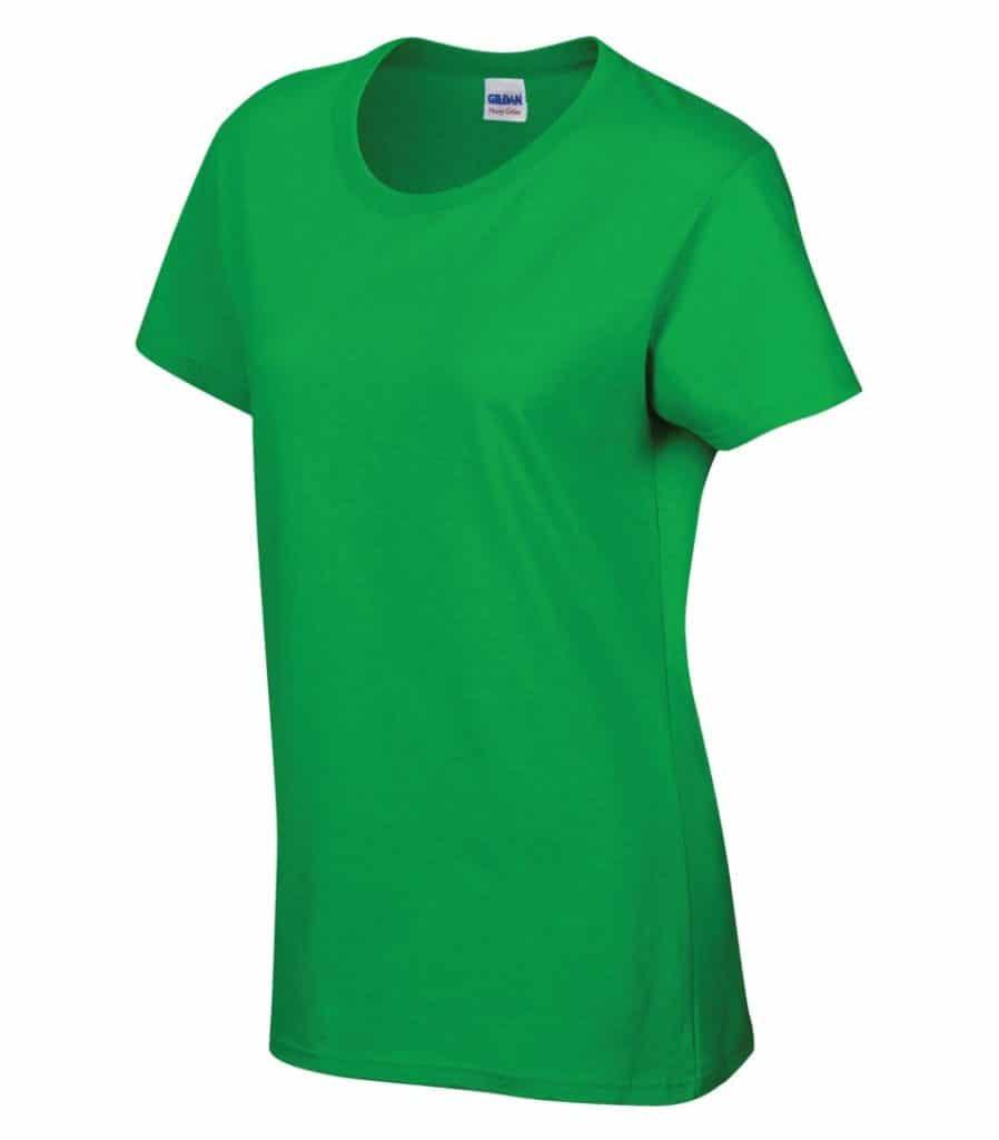 WTSM5000L-W - Electric Green - WorkwearToronto.com - Women's T-Shirt With Optional Logo