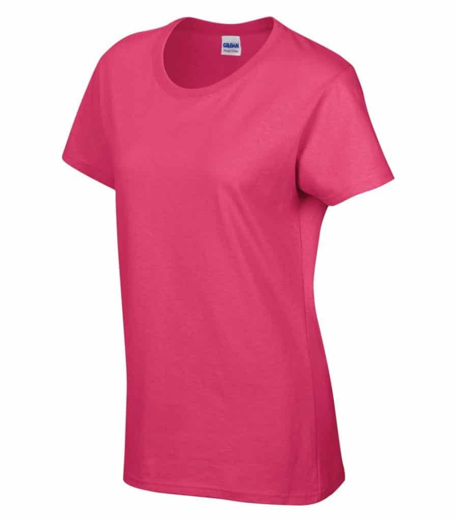 WTSM5000L-W - Heliconia - WorkwearToronto.com - Women's T-Shirt With Optional Logo