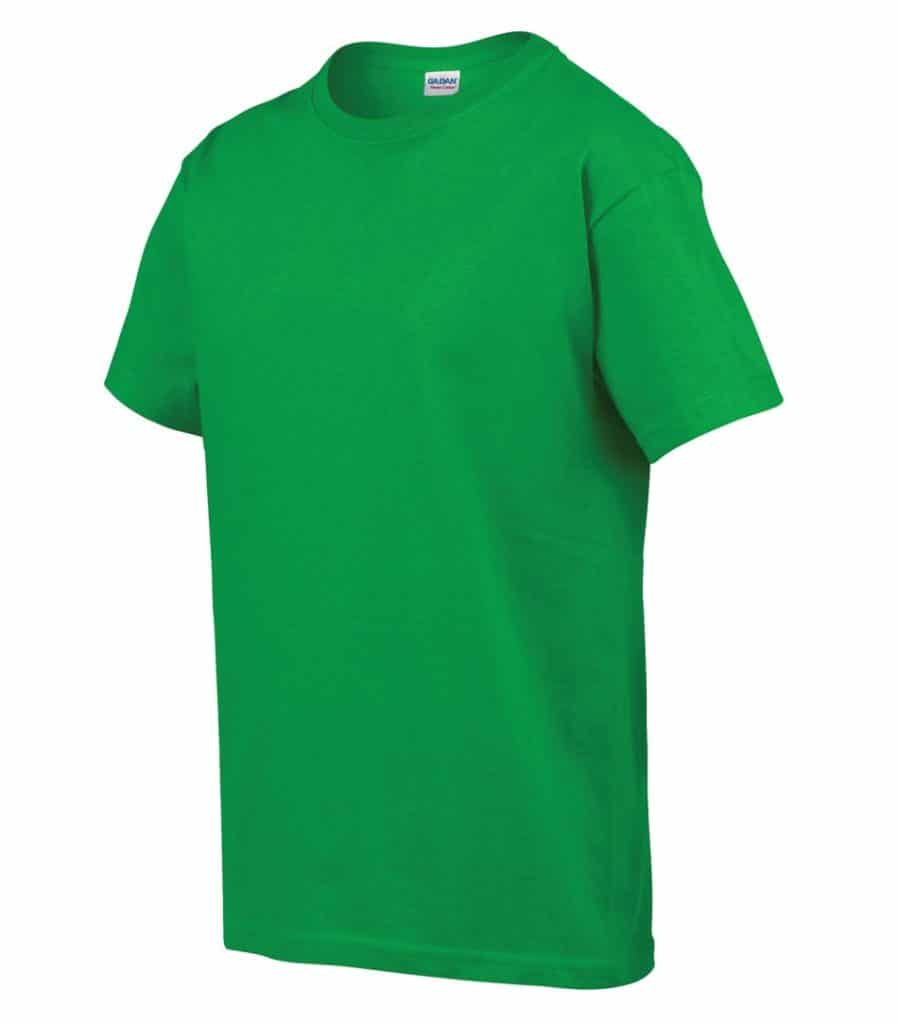 WTSM500B-Y - Electric Green - WorkwearToronto.com - T-Shirts for Youth With Custom Decoration