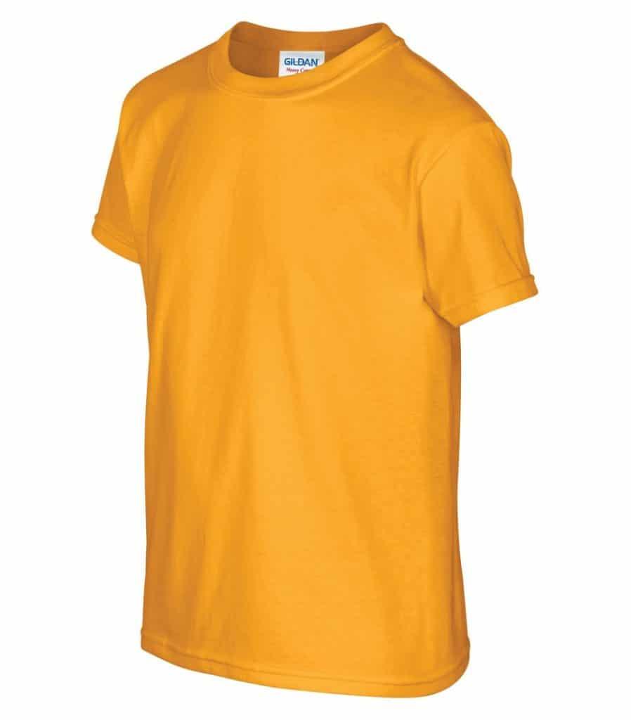 WTSM500B-Y - Gold - WorkwearToronto.com - T-Shirts for Youth With Custom Decoration - Custom T Shirts in GTA
