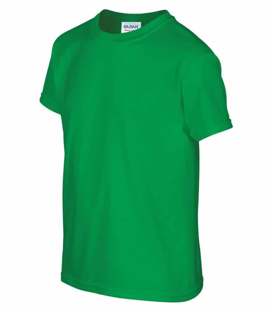 WTSM500B-Y - Irish Green - WorkwearToronto.com - T-Shirts for Youth With Custom Decoration - Custom T Shirts in GTA