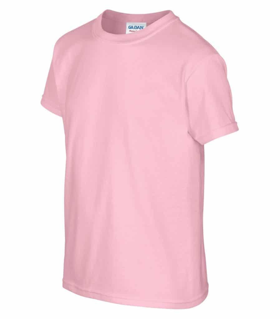 WTSM500B-Y - Light Pink - WorkwearToronto.com - T-Shirts for Youth With Custom Decoration - Custom Clothing in Toronto