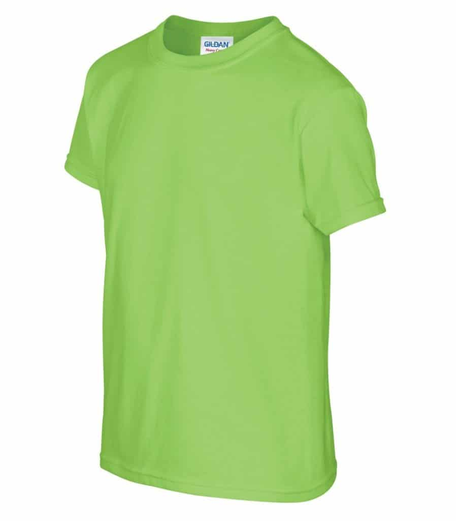 WTSM500B-Y - Lime - WorkwearToronto.com - T-Shirts for Youth With Custom Decoration