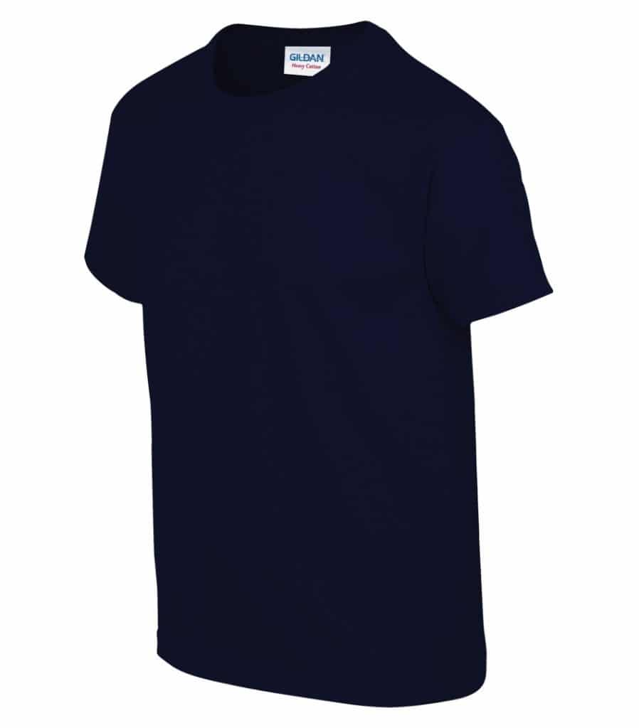 WTSM500B-Y - Navy - WorkwearToronto.com - T-Shirts for Youth With Custom Decoration