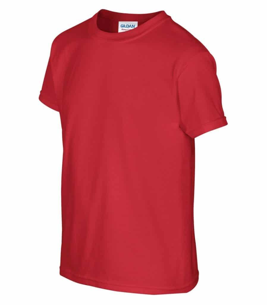 WTSM500B-Y - Red - WorkwearToronto.com - T-Shirts for Youth With Custom Decoration - Custom Clothing in GTA