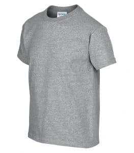 WTSM500B-Y - Sport Grey - WorkwearToronto.com - T-Shirts for Youth With Custom Decoration