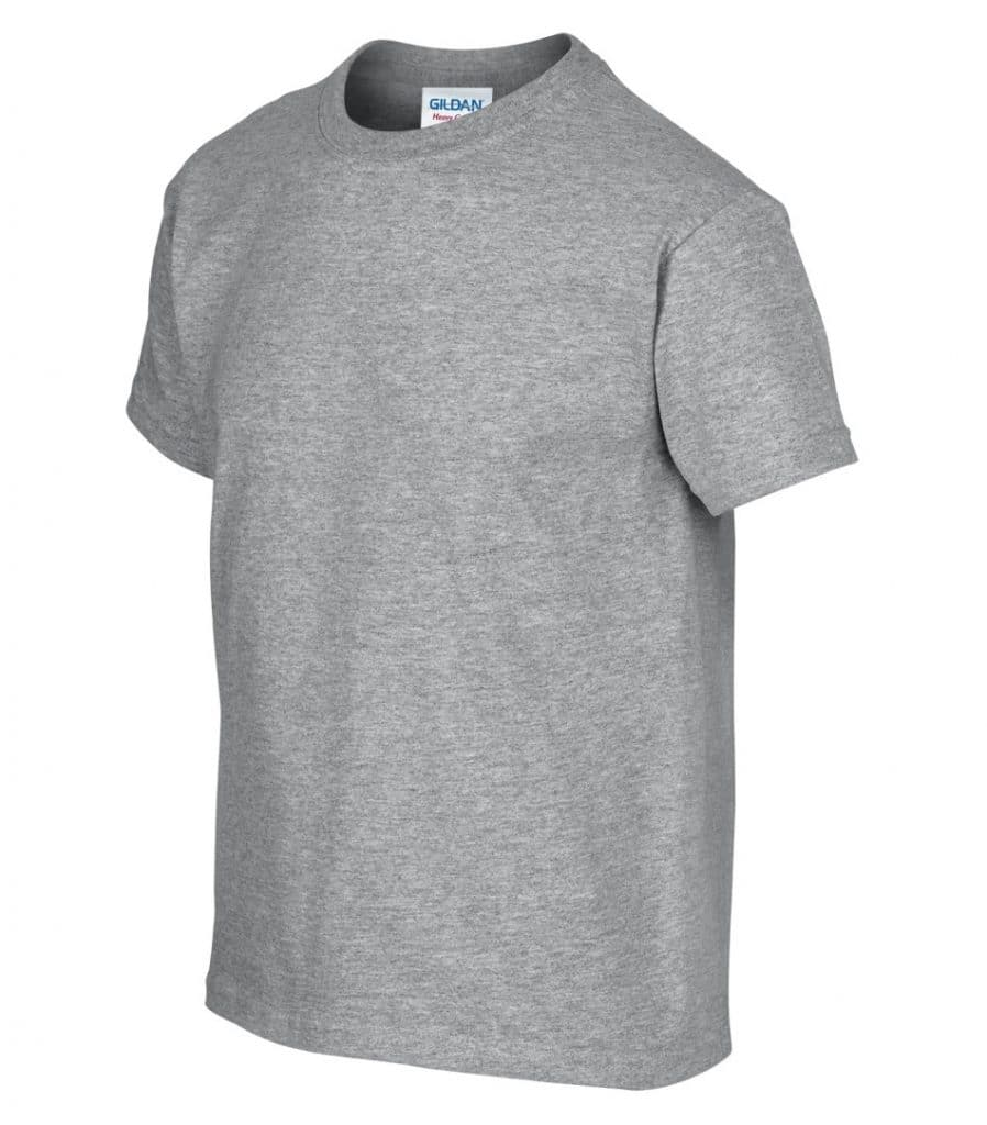 WTSM500B-Y - Sport Grey - WorkwearToronto.com - T-Shirts for Youth With Custom Decoration
