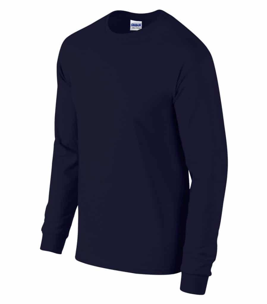 WTSM5400 - Navy - WorkwearToronto.com - Men's T-Shirts With Custom Logo