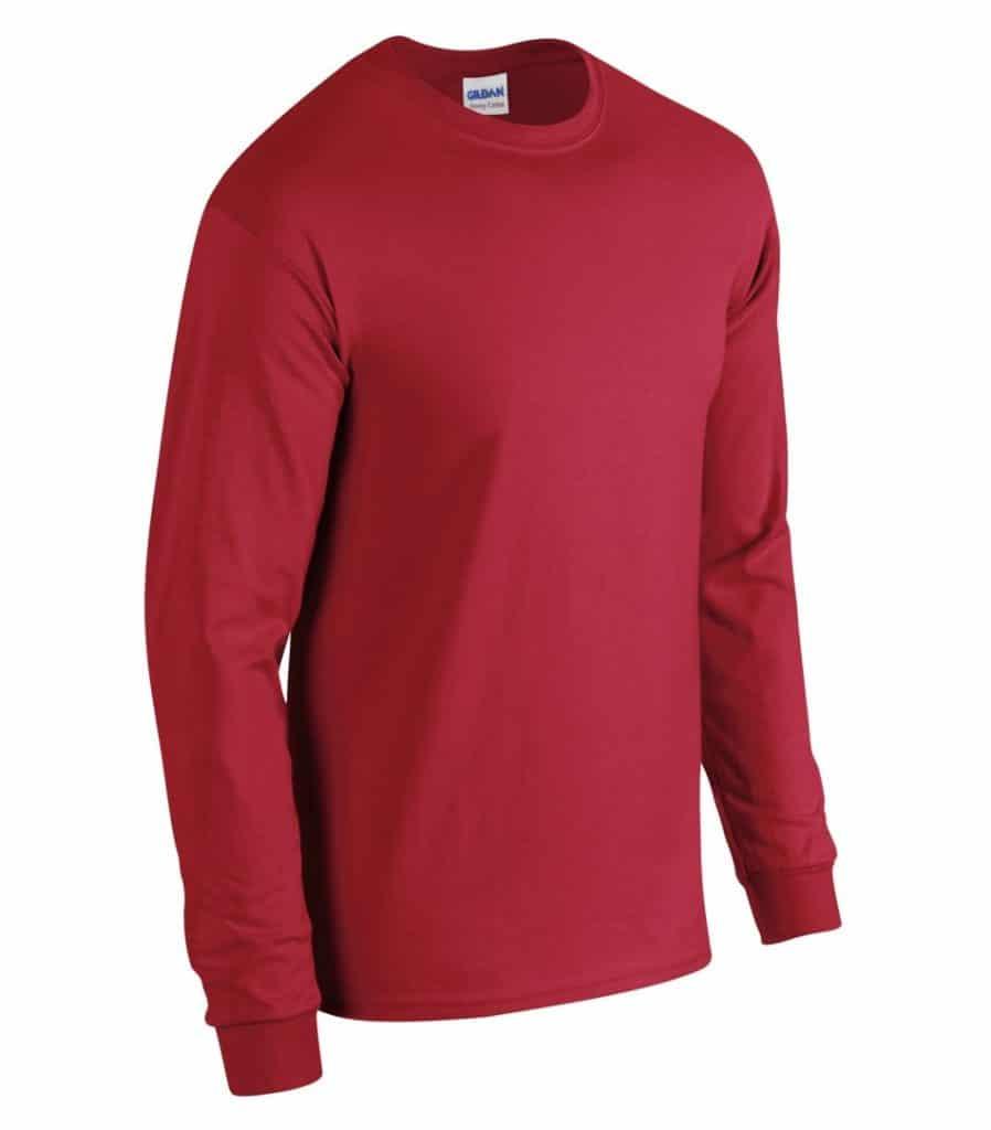 WTSM5400 - Red - WorkwearToronto.com - Men's T-Shirts With Custom Logo
