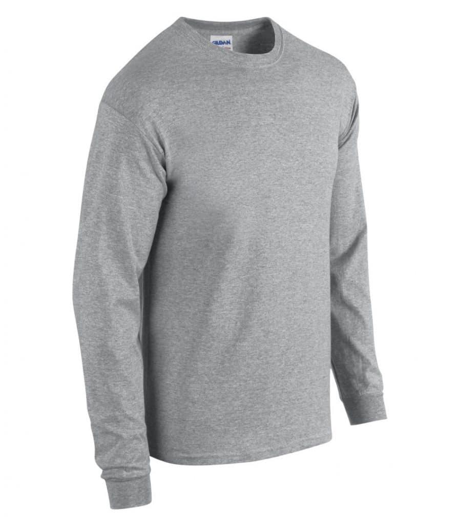 WTSM5400 - Sport Grey - WorkwearToronto.com - Men's T-Shirts With Custom Logo
