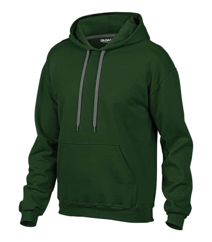 WTSM92500 - Forest Green - WorkwearToronto.com - Men's Hoodies & Sweatshirts