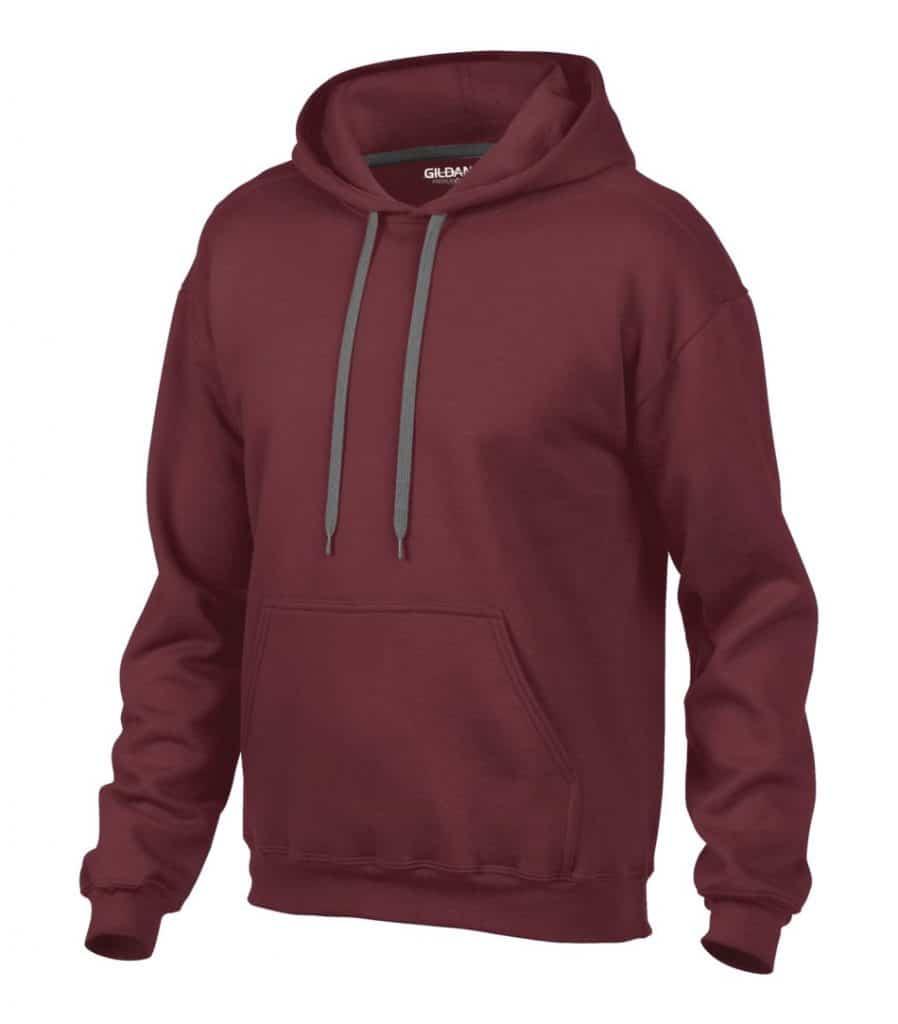 WTSM92500 - Maroon - WorkwearToronto.com - Men's Hoodies & Sweatshirts Cost