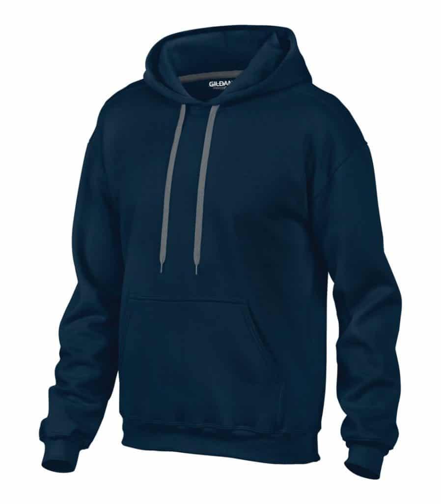 WTSM92500 - Navy - WorkwearToronto.com - Men's Fleece Hoodies & Sweatshirts