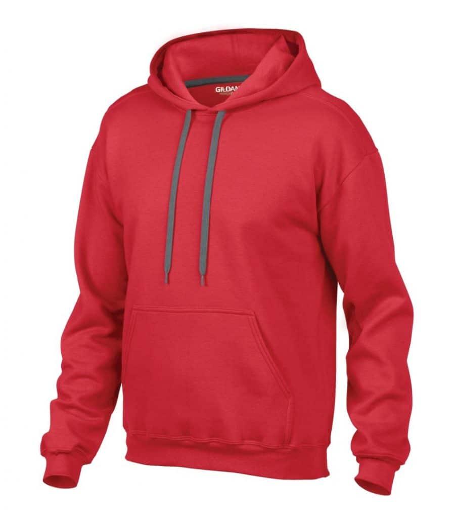 WTSM92500 - Red - WorkwearToronto.com - Men's Hoodies & Sweatshirts