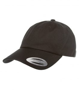 WTSMATC6245CM - Black - WorkwearToronto.com - Custom Headwear - Embroidery - Cotton Twill Cap - Heat Press - Cost