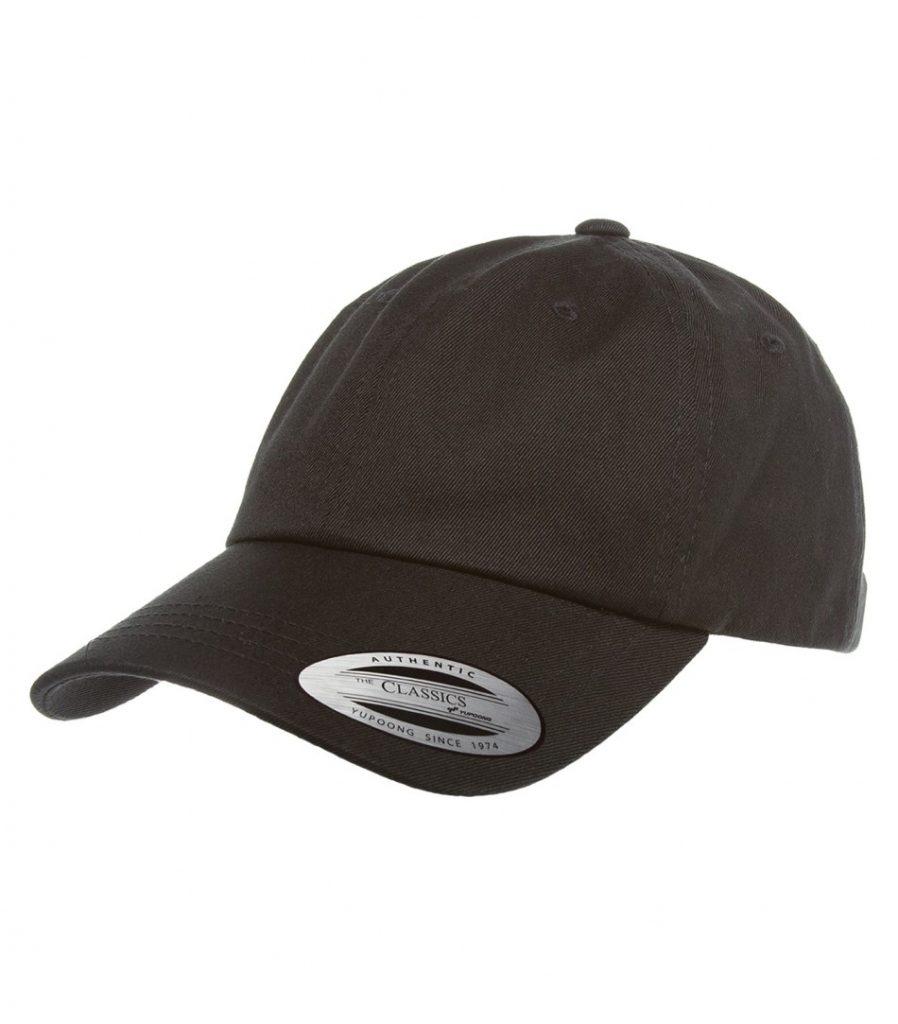 WTSMATC6245CM - Black - WorkwearToronto.com - Custom Headwear - Embroidery - Cotton Twill Cap