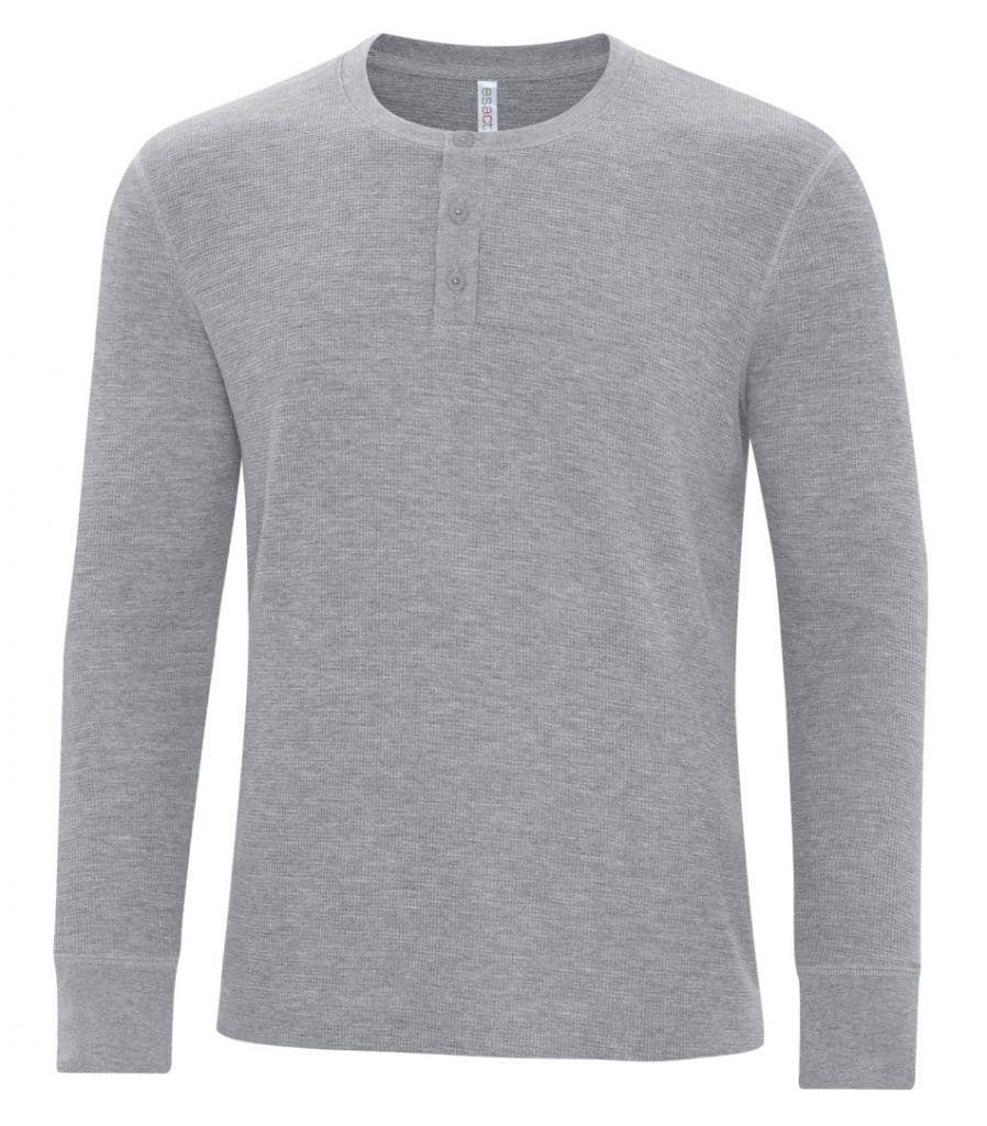 WTSMATC8064 - Grey Heather - WorkwearToronto.com - Custom Decorated T-shirts - Embroidery, Heat Press and Screen Printing