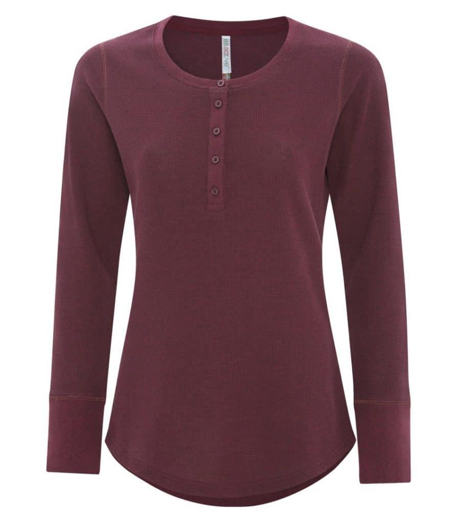 WTSMATC8064L-W - Cardinal Heather - WorkwearToronto.com - Ladies T-Shirt