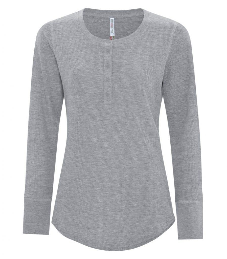 WTSMATC8064L-W - Grey Heather - WorkwearToronto.com - Ladies T-Shirt
