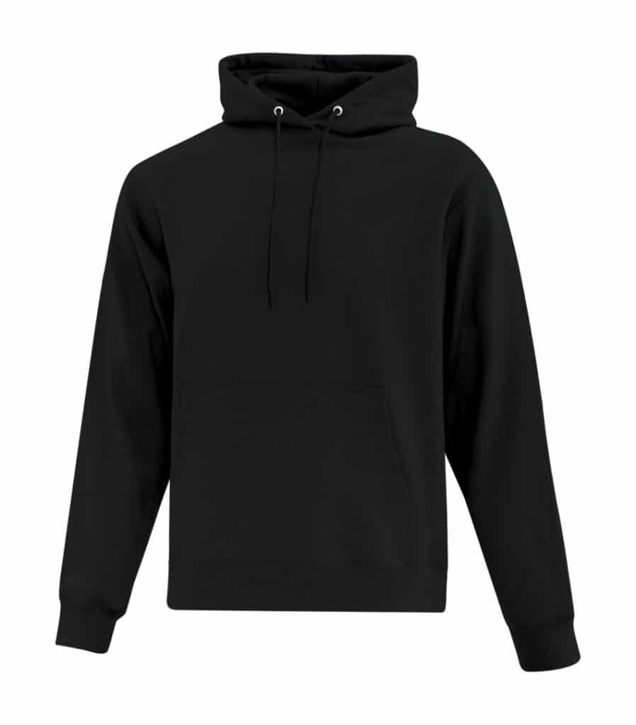 WTSMATCF2500 - Black - Hooded Sweatshirt For Men - WorkwearToronto.com - Men's Hoodies Sweatshirts
