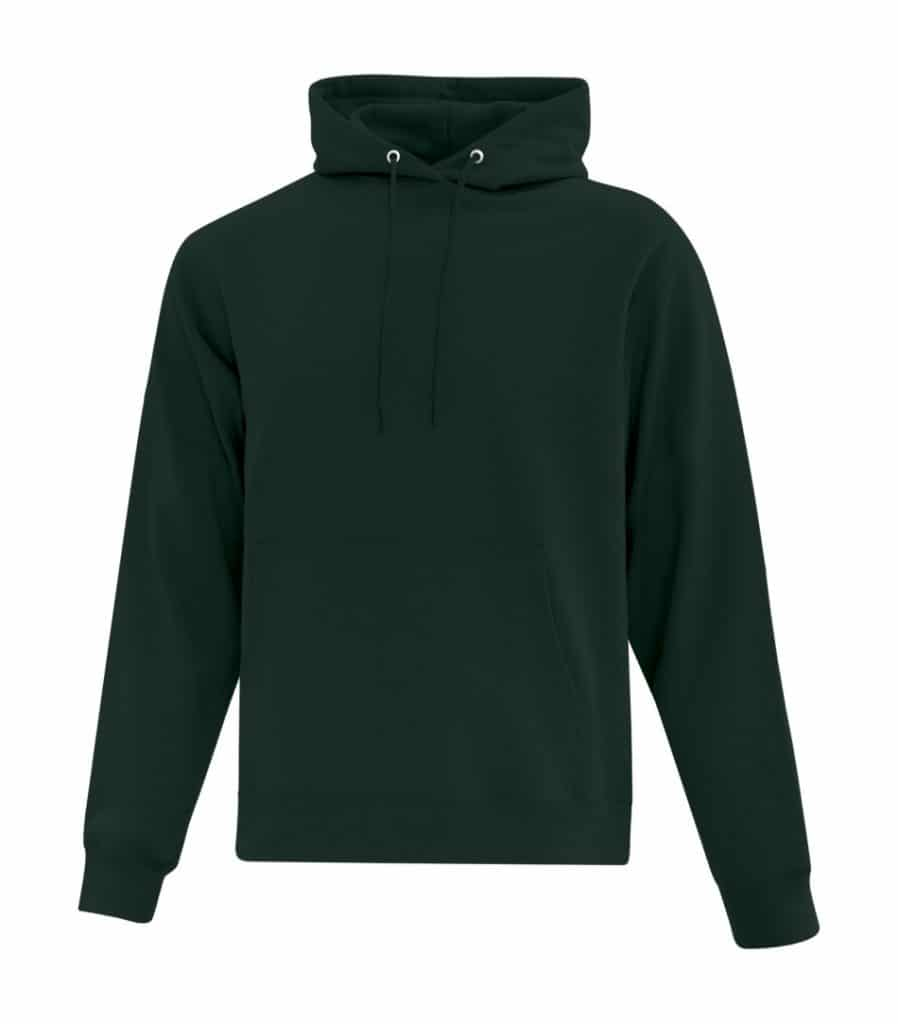 WTSMATCF2500 - Dark Green - Hooded Sweatshirt For Men - WorkwearToronto.com - Men's Hoodies Sweatshirts