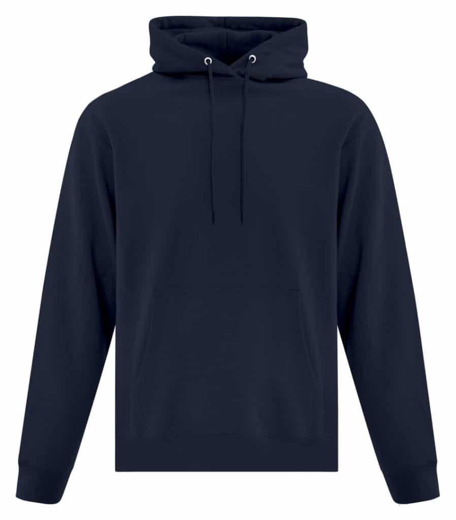 WTSMATCF2500 - Dark Navy - Hooded Sweatshirt For Men - WorkwearToronto.com - Men's Hoodies Sweatshirts