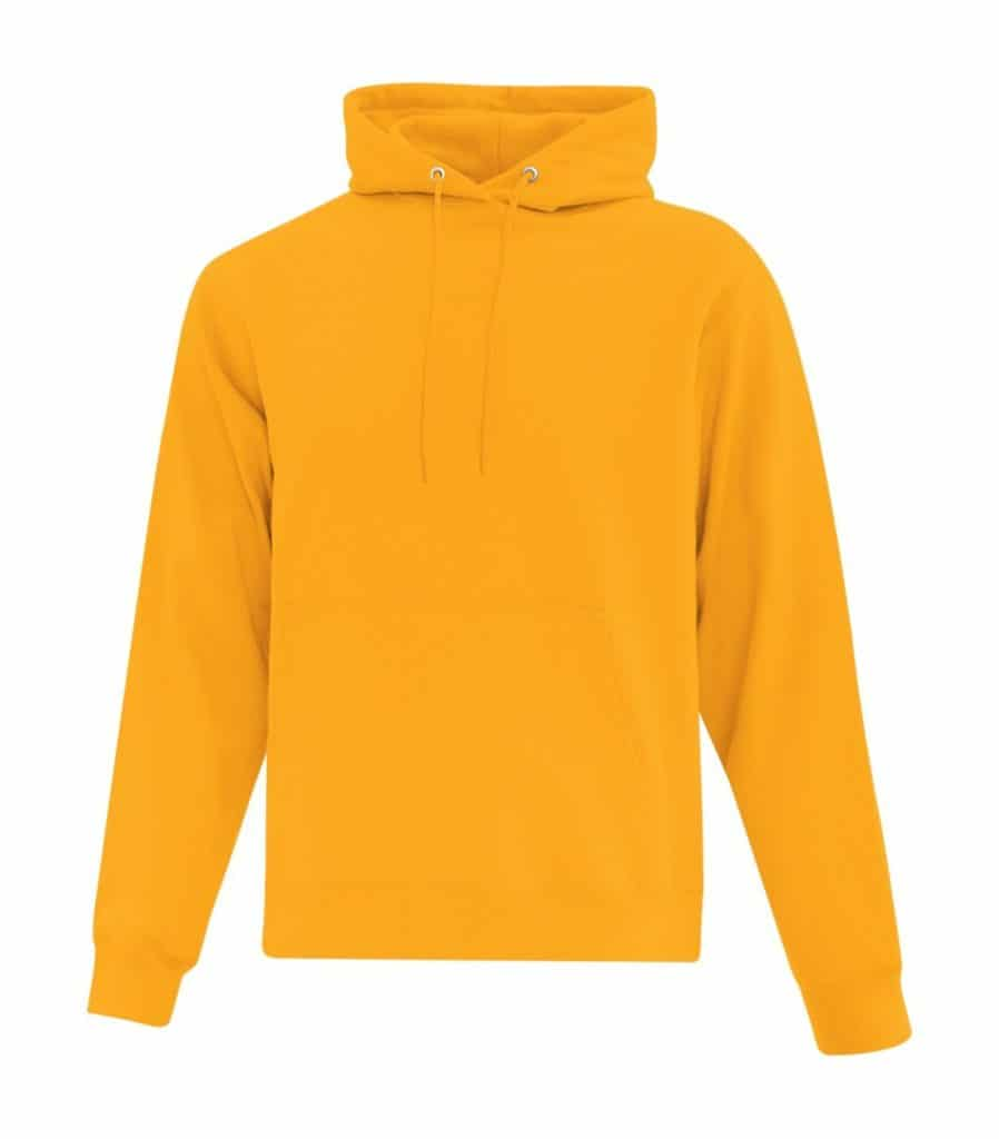 WTSMATCF2500 - Gold - Hooded Sweatshirt For Men - WorkwearToronto.com - Men's Hoodies Sweatshirts