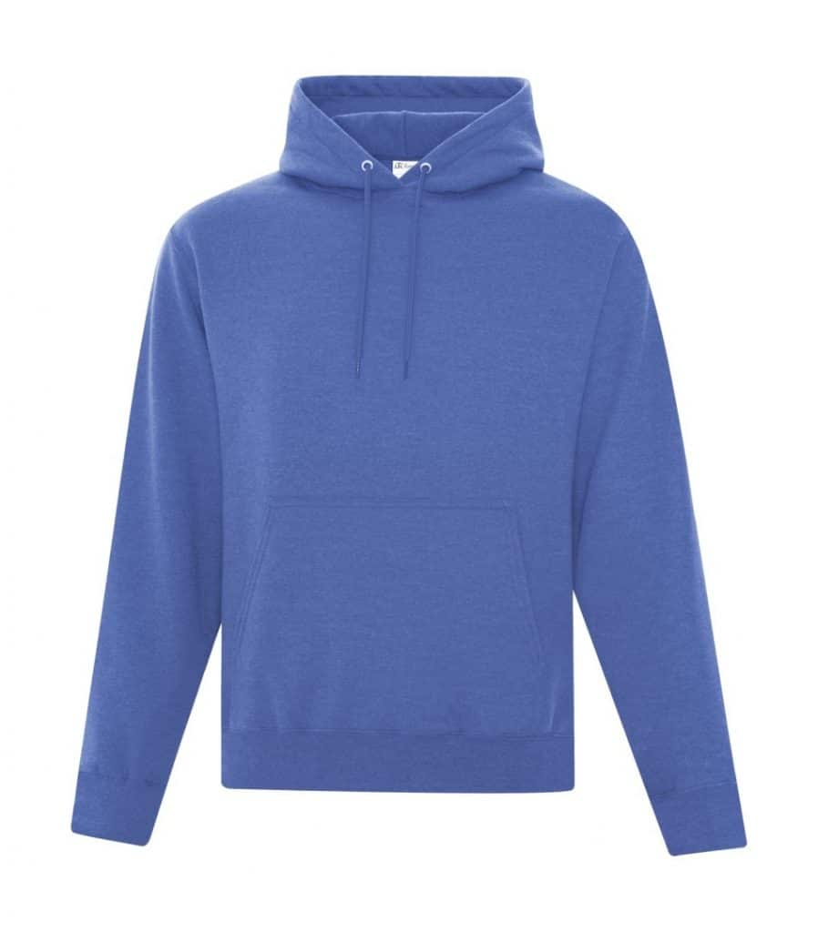 WTSMATCF2500 - Heather Royal - Hooded Sweatshirt For Men - WorkwearToronto.com - Men's Hoodies Sweatshirts