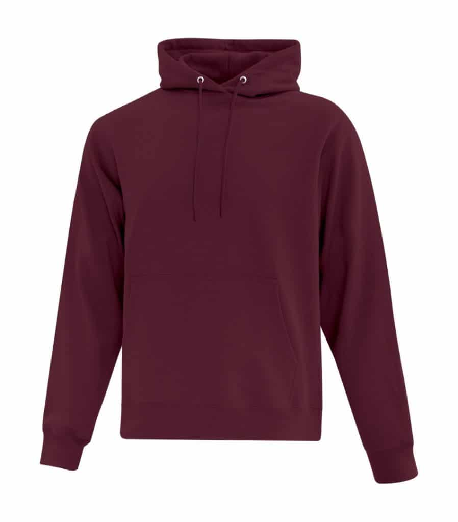 WTSMATCF2500 - Maroon - Hooded Sweatshirt For Men - WorkwearToronto.com - Men's Hoodies Sweatshirts