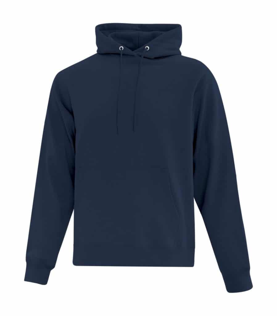 WTSMATCF2500 - Navy - Hooded Sweatshirt For Men - WorkwearToronto.com - Men's Hoodies Sweatshirts