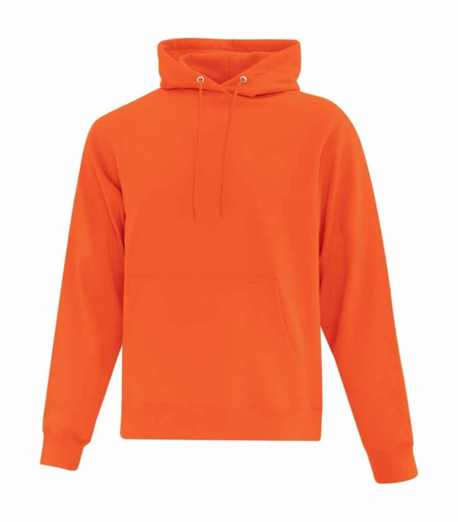 WTSMATCF2500 - Orange - Hooded Sweatshirt For Men - WorkwearToronto.com - Men's Hoodies Sweatshirts