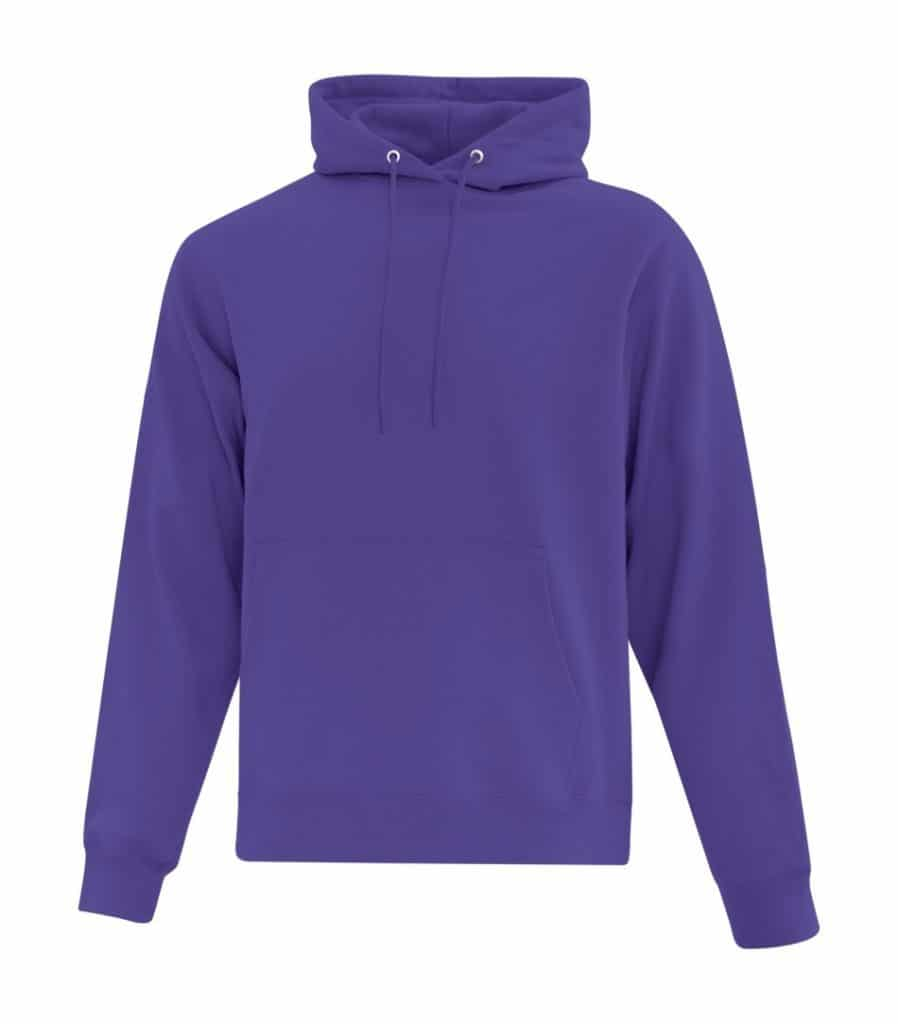 WTSMATCF2500 - Purple - Hooded Sweatshirt For Men - WorkwearToronto.com - Men's Hoodies Sweatshirts