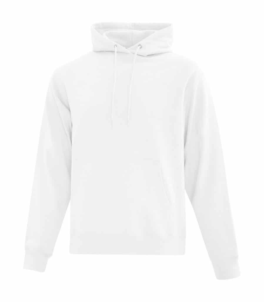 WTSMATCF2500 - White - Hooded Sweatshirt For Men - WorkwearToronto.com - Men's Hoodies Sweatshirts