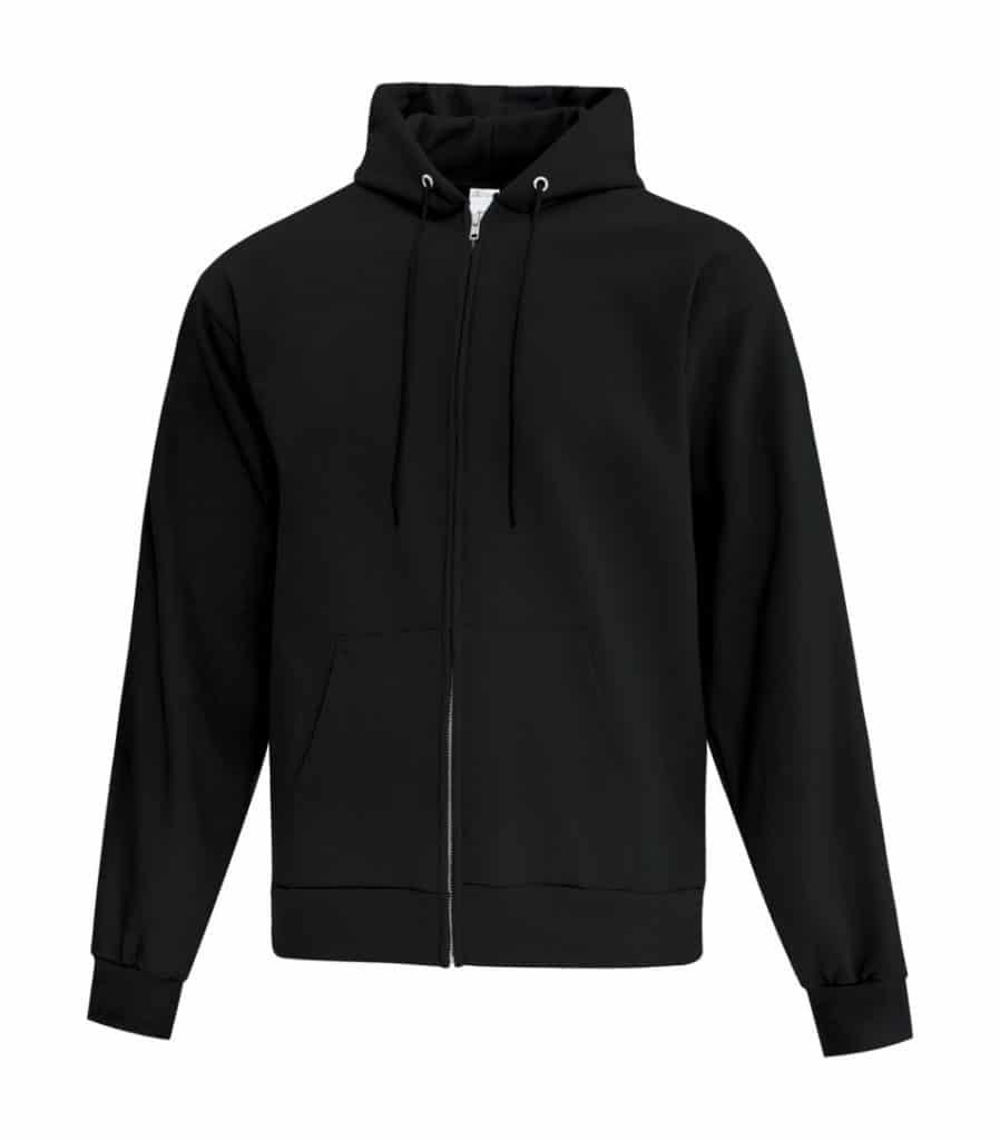 WTSMATCF2600 - Black - Hooded Sweatshirt - WorkwearToronto.com - Men's Hoodies - Custom Logo