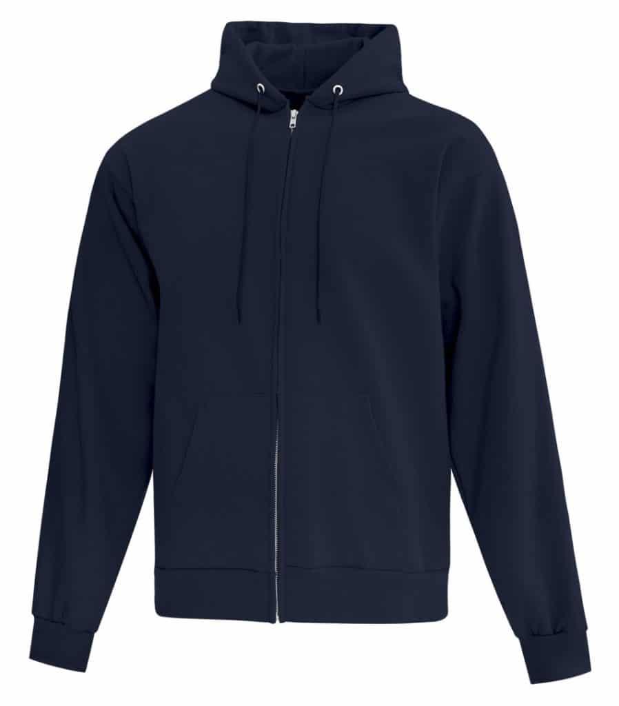 WTSMATCF2600 - Dark Navy - WorkwearToronto.com - Men's Hoodies - Custom Logo - Hooded Sweatshirt