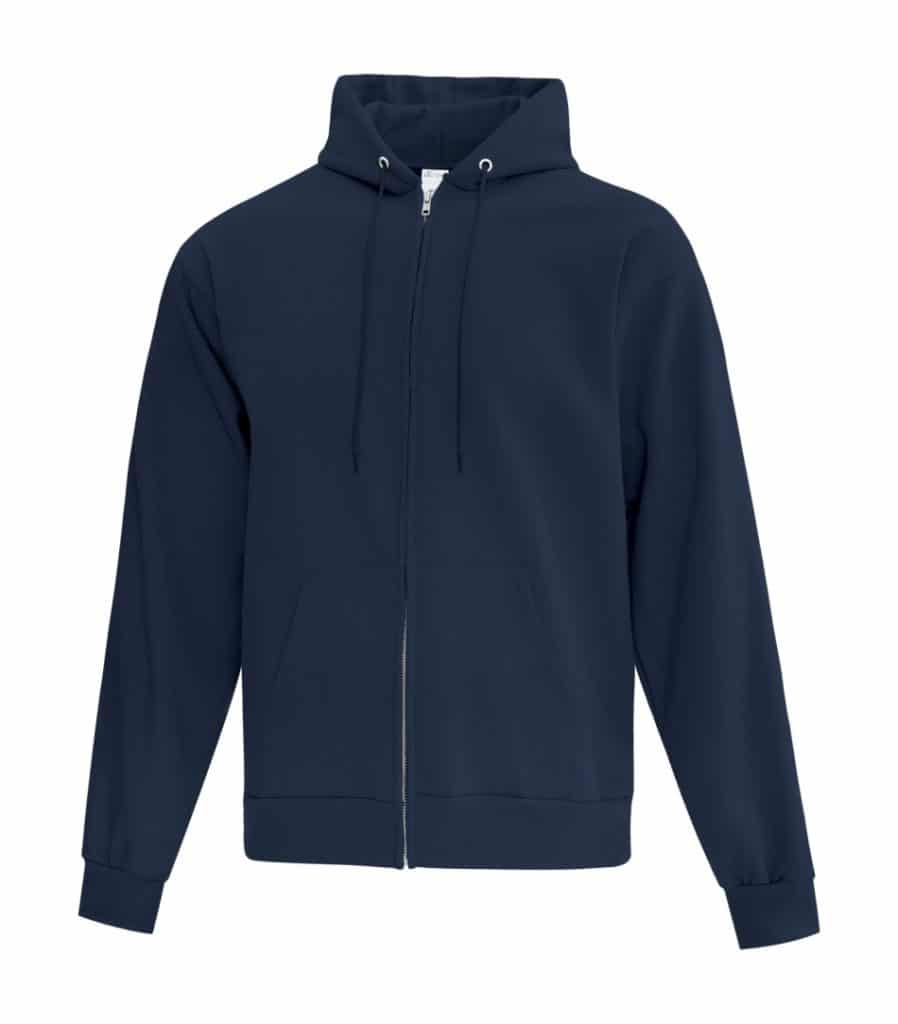 WTSMATCF2600 - Navy - Hooded Sweatshirt - WorkwearToronto.com - Men's Hoodies - Custom Logo