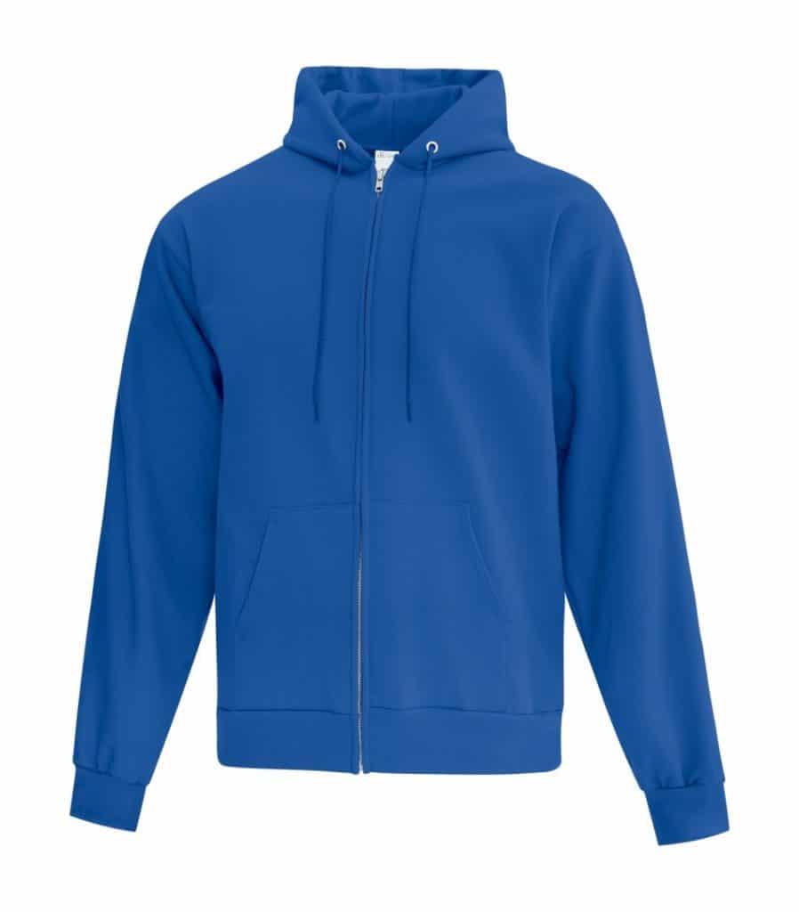 WTSMATCF2600 - Royal - Hooded Sweatshirt - WorkwearToronto.com - Men's Hoodies - Custom Logo