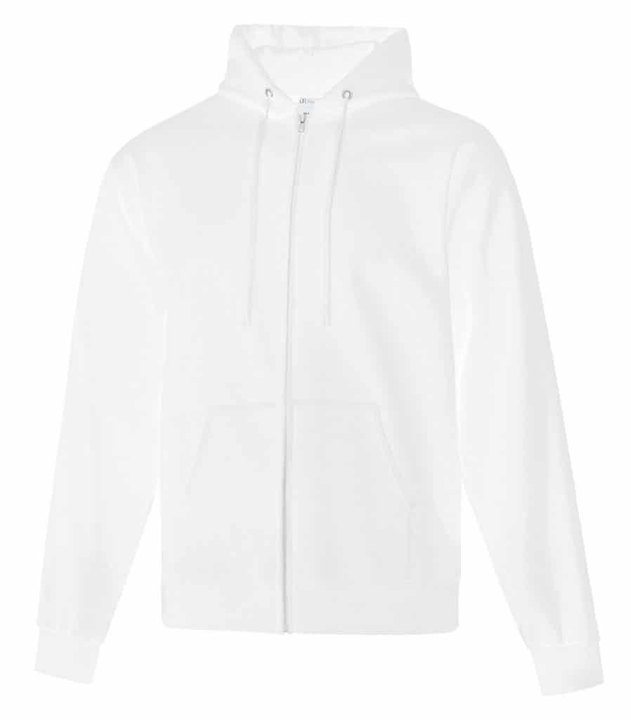 WTSMATCF2600 - White - Hooded Sweatshirt - WorkwearToronto.com - Men's Hoodies - Custom Logo