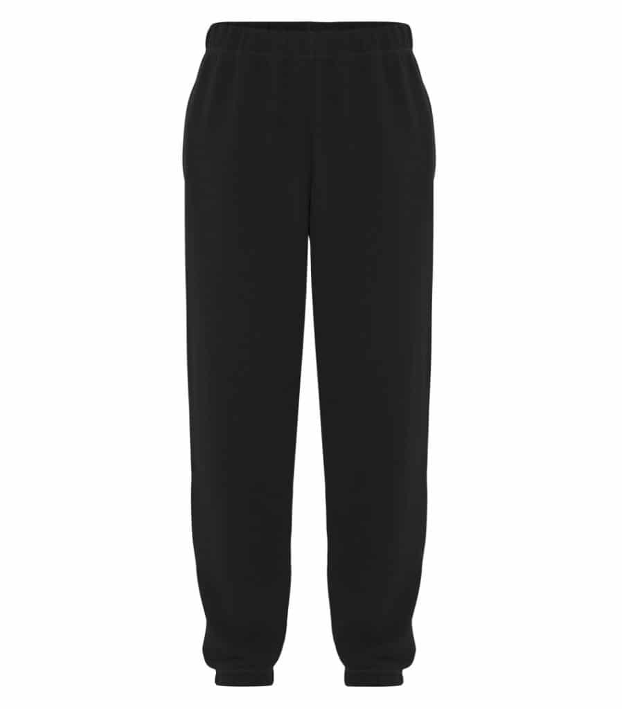 WTSMATCF2800 - Black - WorkwearToronto.com - Men's Everyday fleece sweatpants - Custom Clothing Products
