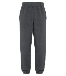 WTSMATCF2800 - Dark Heather Grey - WorkwearToronto.com - Men's Everyday fleece sweatpants
