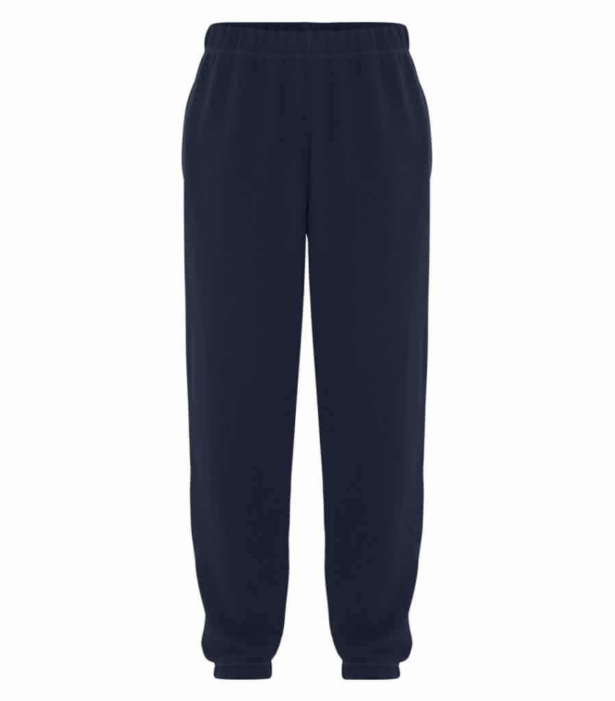 WTSMATCF2800 - Dark Navy - WorkwearToronto.com - Men's Everyday fleece sweatpants - Custom Clothing items