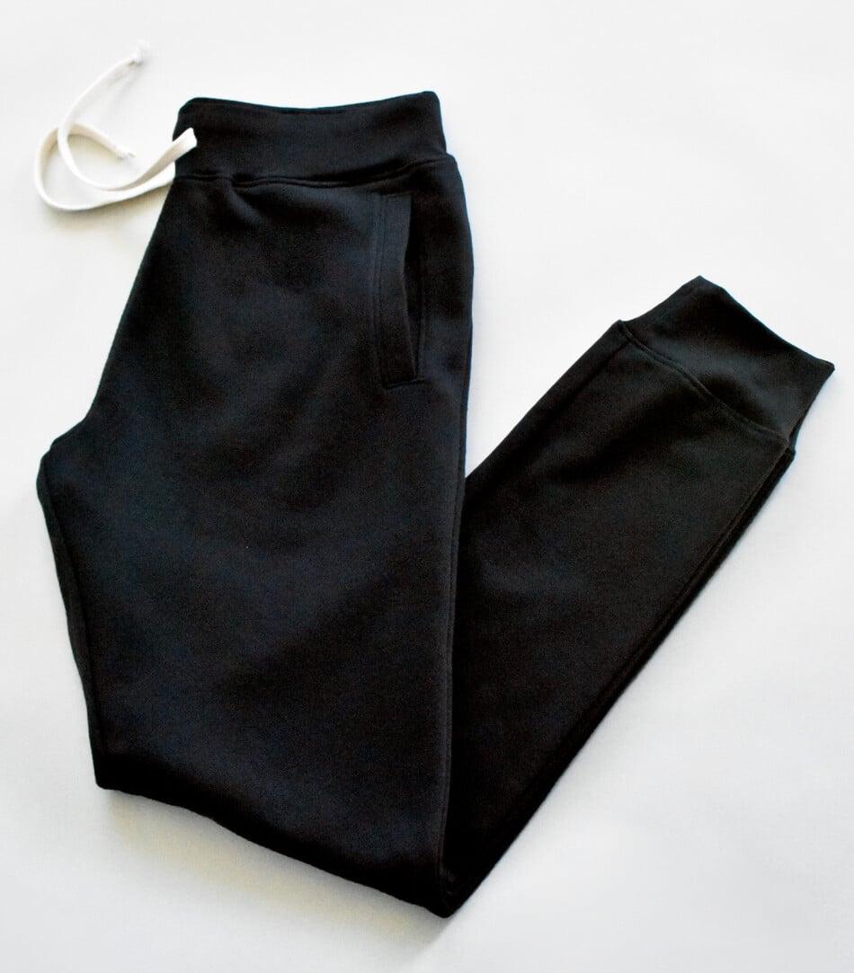 WTSMATCF2850 - Black - WorkwearToronto.com - Unisex Ring Spun Jogger Pants - Custom clothing in GTA