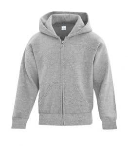 WTSMATCY2600Y - Athletic Heather - WorkwearToronto.com - Kids Hooded Sweatshirt